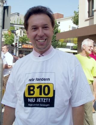 Oberbürgermeister Wolfgang Amann.